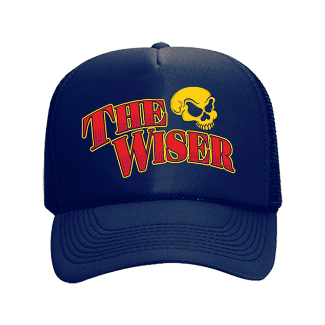 Cap Trucker Azul The Wiser Calavera