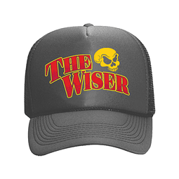 Cap Trucker Gris The Wiser Calavera