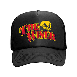 Cap Trucker Negro The Wiser Calavera