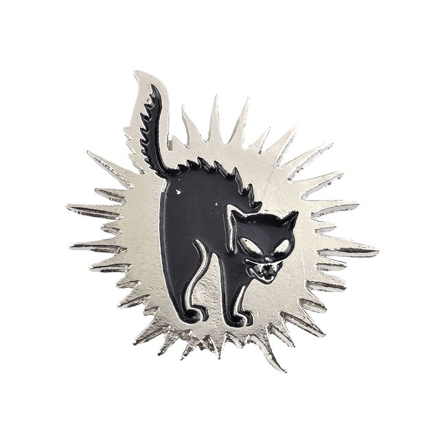 Pin Black Cat