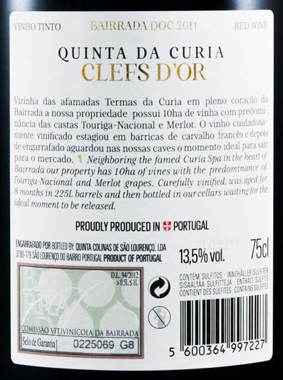 Quinta da Curia Clefs D'Or 2011