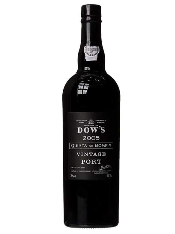 Dow's Quinta Do Bomfim Vintage Port 2005
