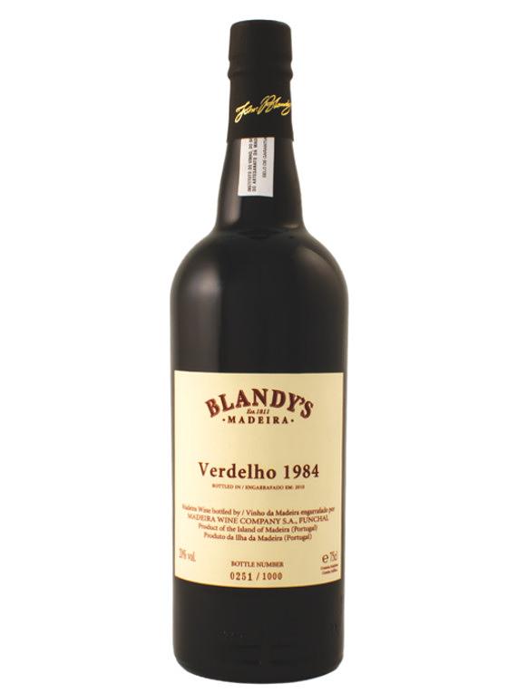 Blandy's Verdelho Vintage 1984