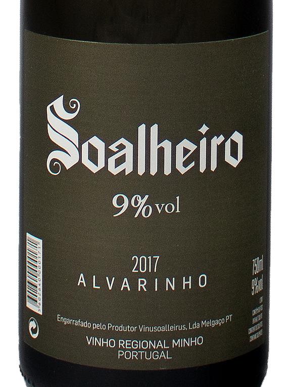 Soalheiro Alvarinho 9% Dócil 2017