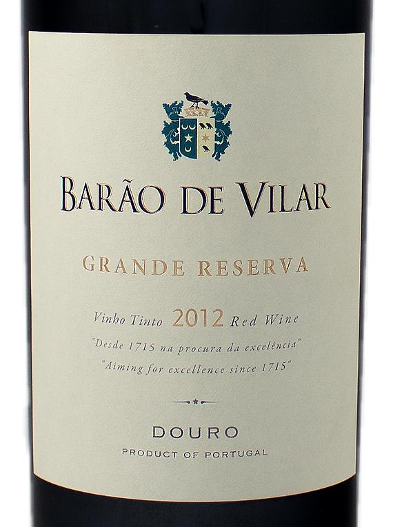 Barão de Vilar Grande Reserva 2012