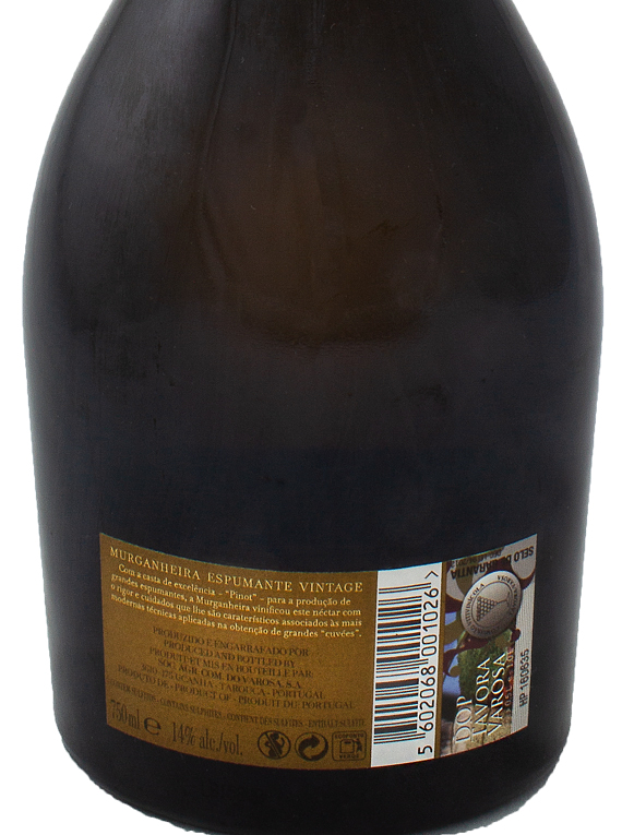 Murganheira Espumante Vintage Pinot Noir 2009