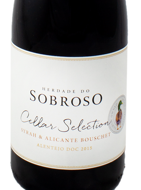 Herdade do Sobroso Cellar Selection 2015