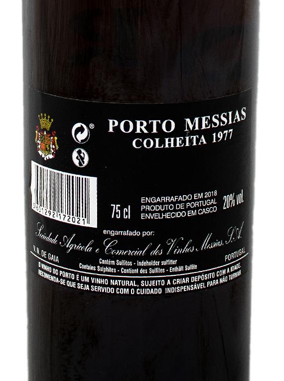 Messias Colheita 1977 Port