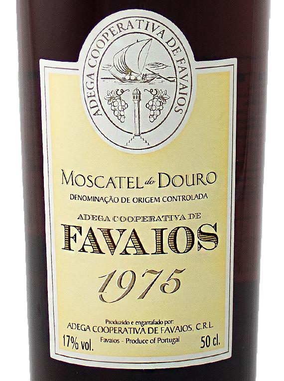Adega de Favaios Moscatel 1975