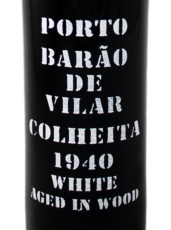 Barão de Vilar Colheita 1940 White Port