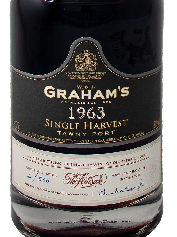 Graham's Single Harvest Tawny 1963