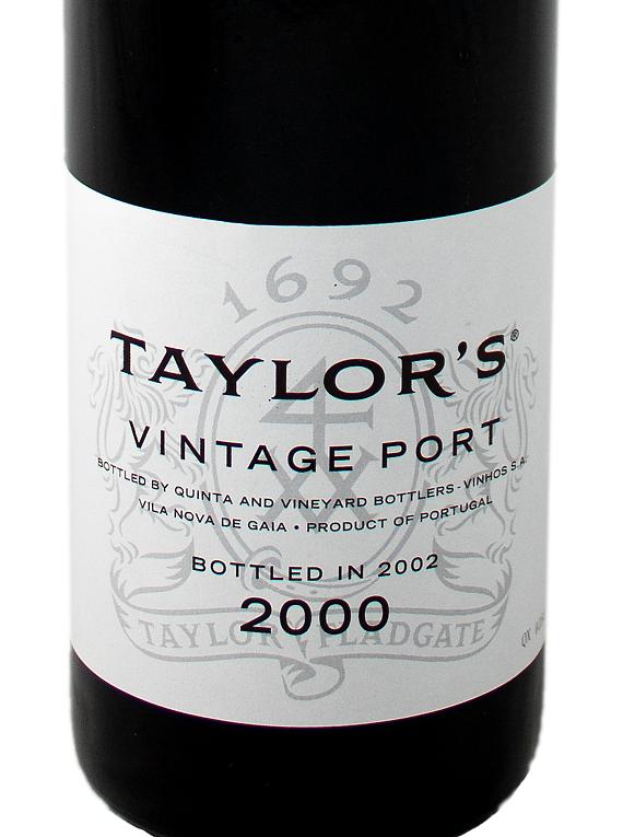 Taylor's 2000 Vintage Port