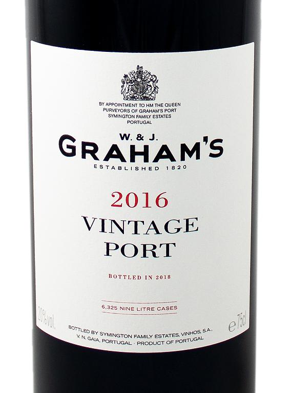 Graham's Vintage Port 2016