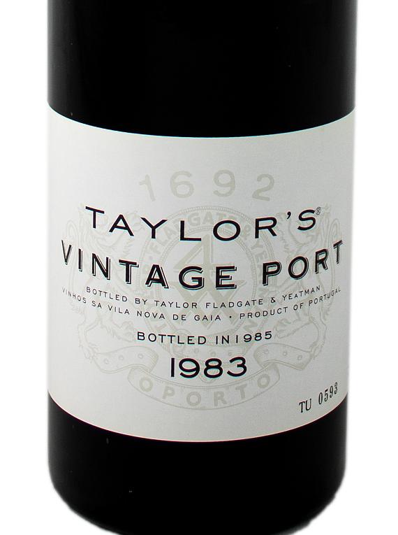 Taylor's Vintage Port 1983
