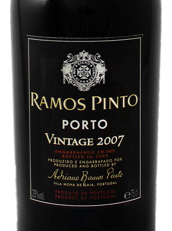 Ramos Pinto Vintage Port 2007
