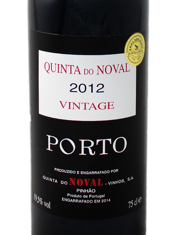Quinta do Noval Vintage Port 2012