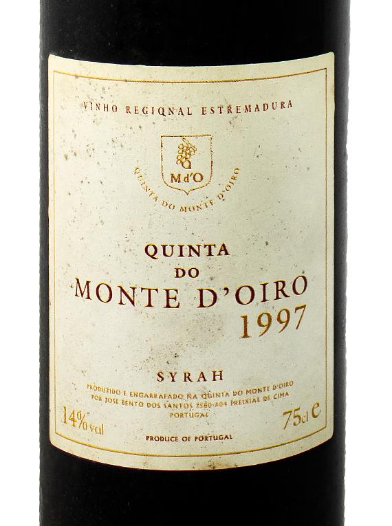 Quinta do Monted'Oiro Reserva 1997