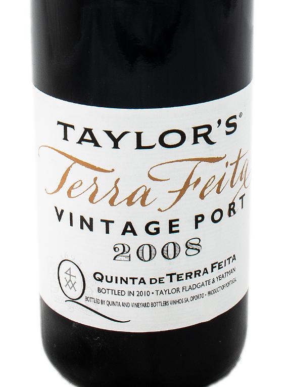 Taylor's Quinta de Terra Feita Vintage Port 2008