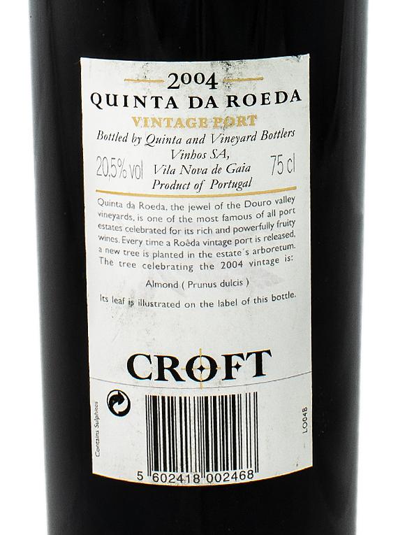 Croft Quinta da Roêda Vintage Port 2004