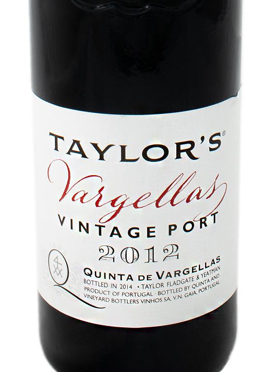 Taylor's Quinta de Vargellas Vintage Port 2012