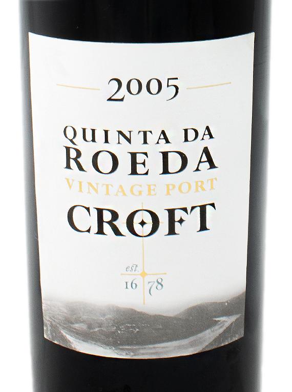 Croft Quinta da Roêda Vintage Port 2005