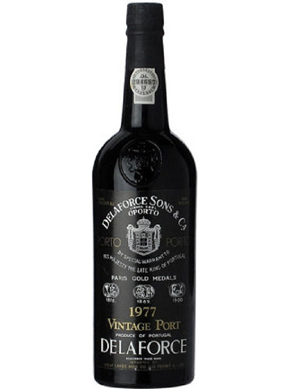 Delaforce Vintage Port 1977