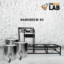Planta Cerveza Artesanal Nanobrew 40 lts