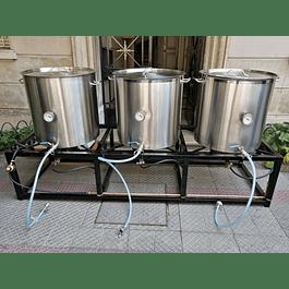 Planta  Cerveza Artesanal (Inferno 100)