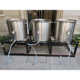 Mini planta 150 litros efectivos (Probrew 150)