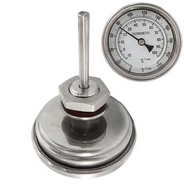 Termómetro bimetalico para Olla/Fermentador