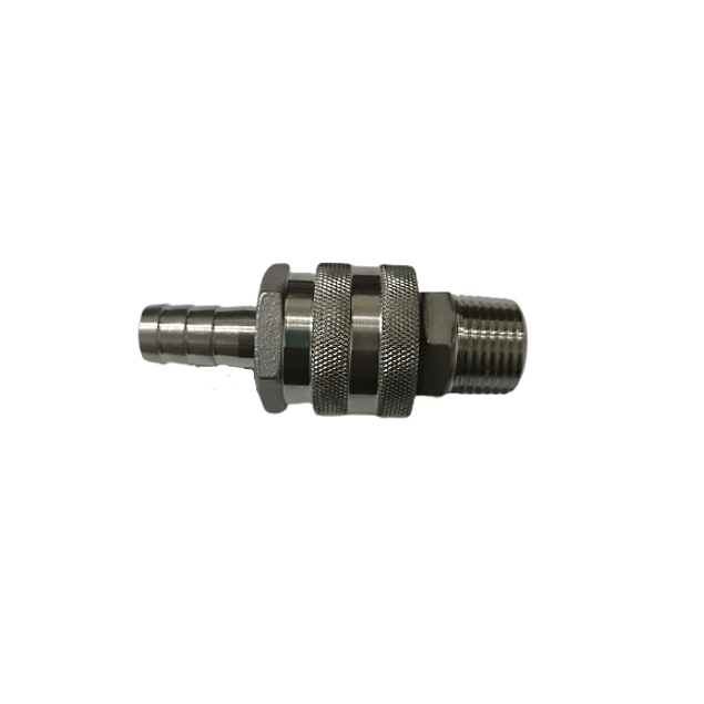 Conector rápido Macho 1/2 Hidráulico SS 304