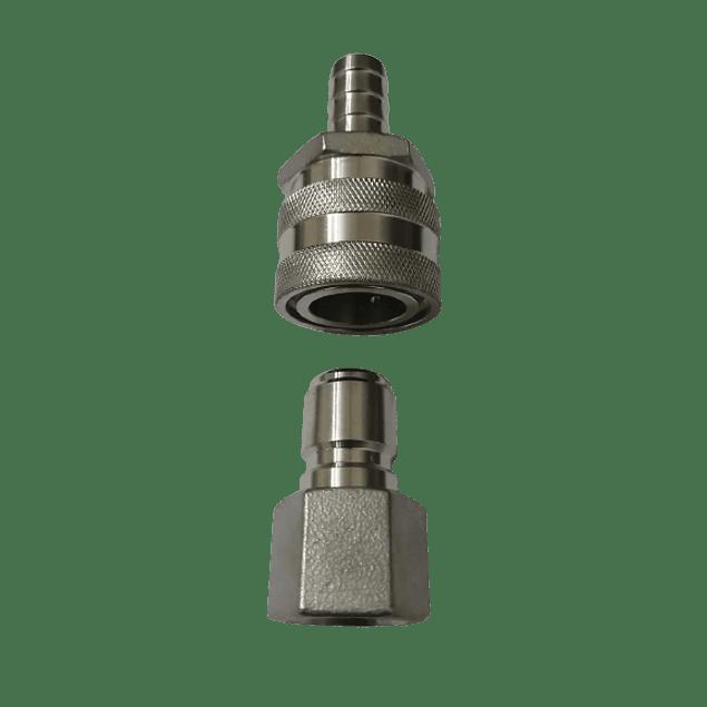 Conector rápido Hembra 1/2 Hidráulico SS 304