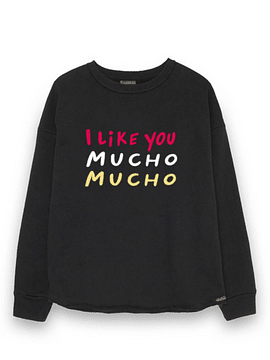 DEAR TEE | Polerón I like you mucho