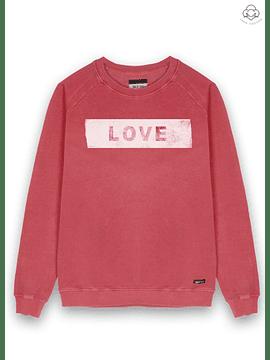 DEAR TEE | Polerón Love Sticker