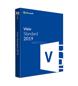 MS VISIO STANDARD 2019 DESCARGA DIGITAL (PERPETUO) ALL LANG