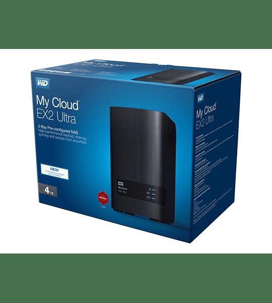 Western Digital My Cloud EX2 Ultra NAS 4tb