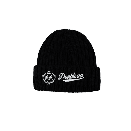 Gorro Double AA - Wool - Black