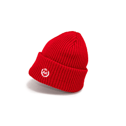 Gorro Double AA - Chunky Knit Red Beanie