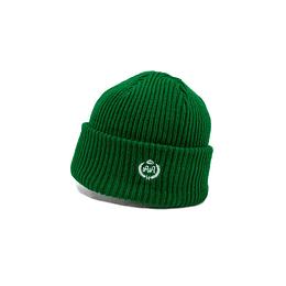 Gorro Double AA - Chunky Knit Green Beanie