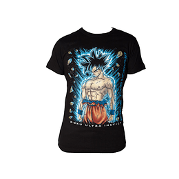 Polera Dragon Ball Super - Goku Ultra Instict