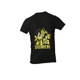 Polera Dragon Ball Z - Super Sayajins 4