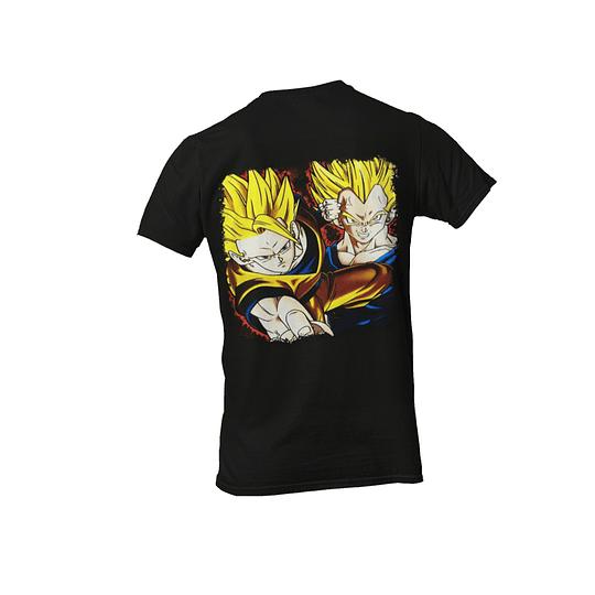 Polera Dragon Ball Z - Goku y Vegeta