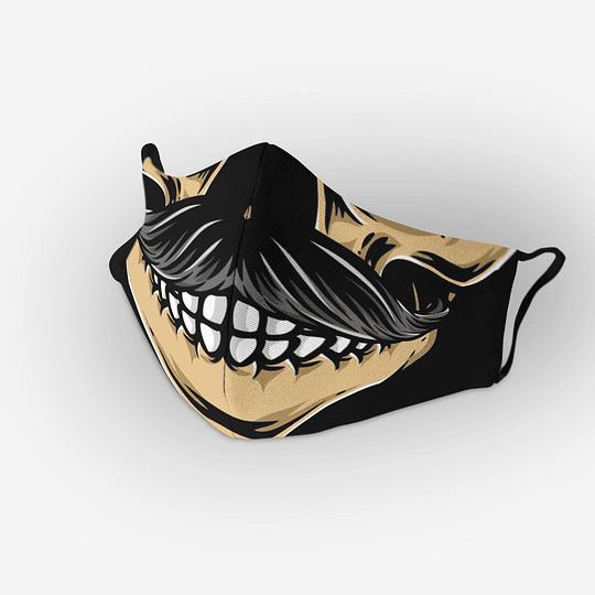 Cubre Boca Moustache