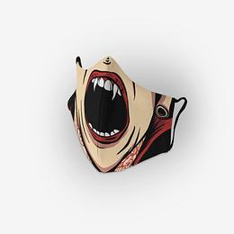 Cubre Boca Mujer Vampiro