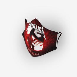 Cubre Boca Metallica Kill em All