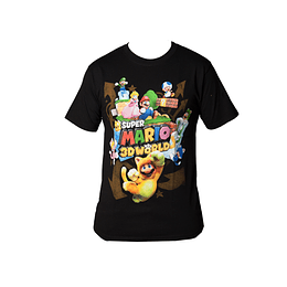 Polera Super Mario - 3D World