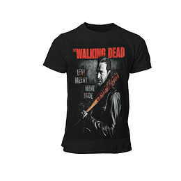 Polera The Walking Dead - Negan