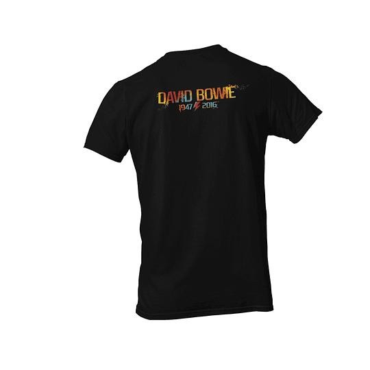 Polera David Bowie 1947-2016