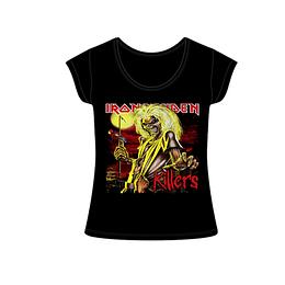 Polera Mujer Iron Maiden Killers