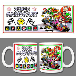 Tazón Mario Kart Retro